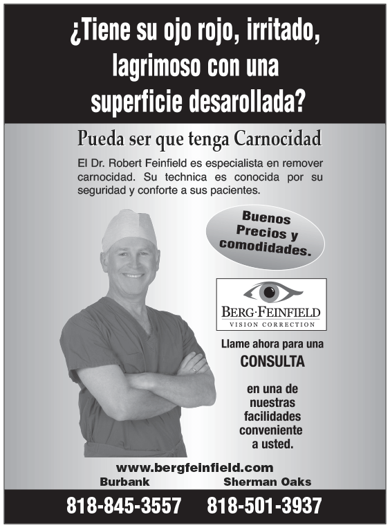 Spanish Pterygium Flyer